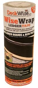 Deckwise Ledger Tape Wisewrap Self Adhesive Deck Flashing Tape 12 X 25 Roll