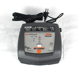 Schumacher Battery Charger Xc10 Ca Quick Start Speed Charge 10 Amp Power Tool