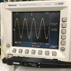 Fully Tested Tektronix A6302 20 A Dc 50 Mhz Ac dc Current Probe