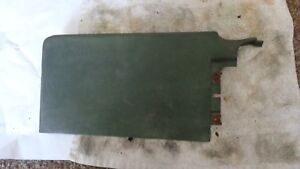 1970 Dodge Charger Super Bee Plymouth Roadrunner Left Lower Green Dash Pad Bezel
