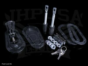 Aerocatch Xtreme Flush Locking Hood Latch Pin Kit Black 125 4100