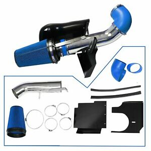 4 Cold Air Intake Pipe kit Heat Shield For 99 06 Gmc chevy V8 4 8l 5 3l 6 0l