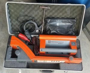 Metrotech 9890rlxt Triple Frequency Utility Line Locator System 9890xt Works