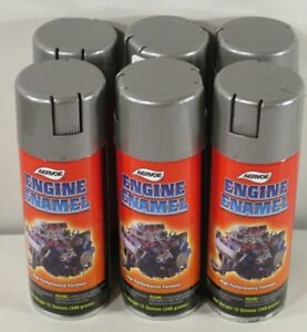 Aervoe 582 Engine Enamel Paint Cast Iron Gray 12 Oz Can Case Of Six Cans