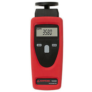 Amprobe Tach20 Combination Tachometer Contact And Non contact