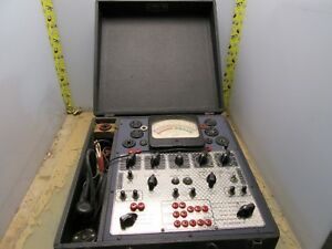 Hickok 510x Dynamic Mutual Conductance Multi tester Tube Tester 4 q 29