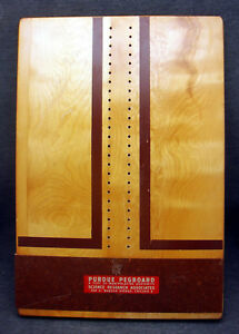 Vintage Early Purdue Pegboard Science Research Manipulative Dexterity Wooden