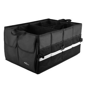 Moko Trunk Organizer For Car Suv Collapsible Cargo Storage For Auto