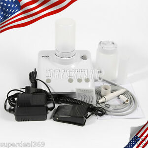 Dental Ultrasonic Piezo Scaler Ems Wookpecker Handpiece Bottles Super