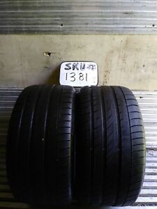 2 Dunlop Sp Sport Maxx Gt Rft 315 35 20 Bmw With 7 32nd Tread Left 110 W