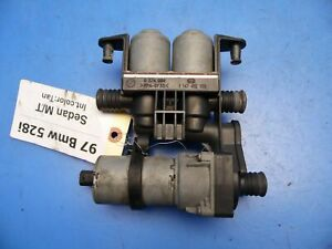 97 00 Bmw 5 Series E39 528i Oem Heater Controls Auxiliary Water Pump 8 374 994
