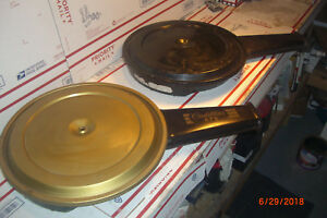 1968 1969 Cadillac Air Cleaner Cowling Snorkel Gold Top Cover 472 Gold Lettering