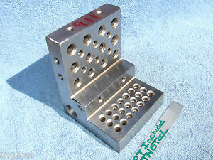 Angle Plate 911 Watchmaker Step Machist Tapped Ground Inspection Grinder Mill Qa