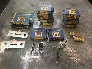 Square D Thermal Overload Relay Unit Lot