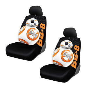 New Disney Star Wars Bb 8 Low Back Seat Cover Set 4 Pcs