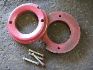 Wheel Horse 702 Tractor Cast Iron Wheel Weights - 20lbs each