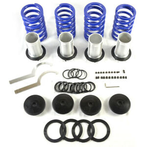 Coilover Lowering Coil Springs Kit For 98 02 Honda Accord 4 Door coupe Black