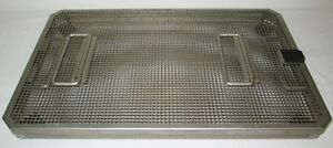 Aesculap Fk891r Stainless Steel Sterilization And Storage Case Container W Lid