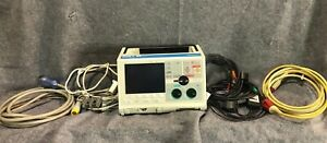 Zoll M Series Biphasic 12 Lead Ecg Spo2 Etco2 Pacing Aed Als