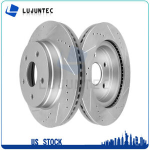 Front Brake Discs Rotors For 2002 2003 2004 2005 2010 Dodge Ram 1500 Vented