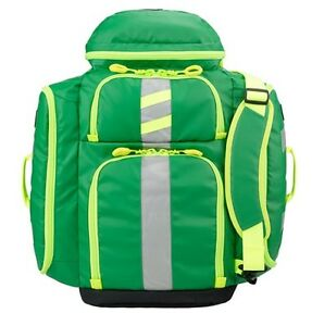New Statpacks G3 Perfusion Ems Medic Backpack Bag Green Stat Packs
