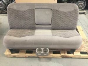 99 00 01 02 03 Ford F250 Super Duty Crew Cab Used Brown Tan 3h Rear Bench Seat
