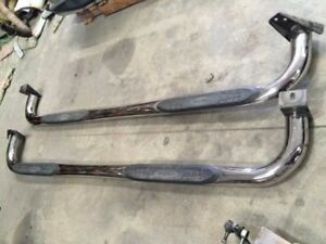 96 Chevy Suburban 2500 Chrome Aftermarket Running Boards As Shown Right