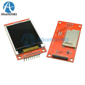 1 8 Inch Lcd Display 128x160 Tft Spi Sd Card Module Avr Pic Arm Stm32 St7735