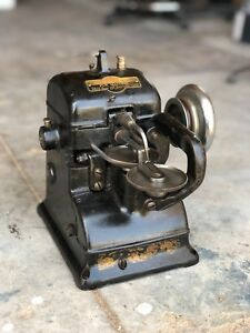 The Bonis Brothers never Stop Vintage Fur Sewing Machine Leather Industrial