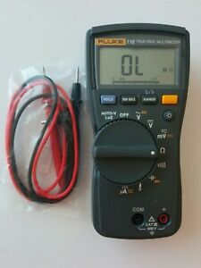 Fluke 116 True Rms Digital Handheld Multimeter Test Lead Probes Nice