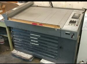 Heidelberg Press Part Cpc3 01 Console W Drawers Scanner Tape R