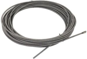 Ridgid Drain Cleaning Cable Snake C 33 3 8 In X 100 Ft Integral Wound Solid Core
