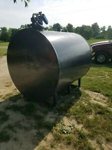 1000 Gallon Fuel Tank Transfer Storage Gas Oil Diesel Biodiesel Farm Constructio