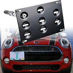 For Bmw Mini 14 19 Cooper 11 19 Countryman Bumper Tow Hook License Plate Bracket
