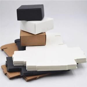 Kraft Paper Box Nice Kraft Box White Black Kraft Packaging Box Samll Size Decor