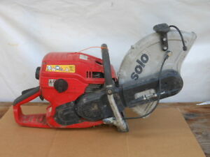 Solo Type 08 i Lube parts Demo power Cutter concrete cut Off Saw