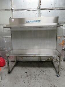 Germfree 6 Bz 6ss Laminar Flow Cabinet Clean Bench Fume Hood W Hydraulic Table