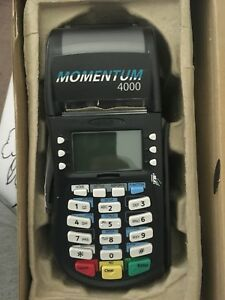 Hypercom Momentumcredit Card Machine W power Supply free Shipping Used