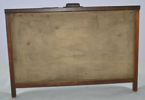 Vintage Printer s Type Tray drawer Shadow Box Empty Case No Dividers 7 8 Size