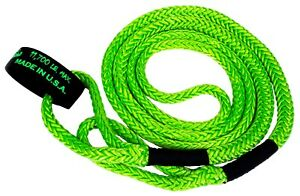 Voodoo Kinetic Recovery Rope 1 2 X16 11 700 Rated Green Pn 1300004