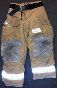 36x30 Pants Firefighter Turnout Bunker Fire Gear Globe Gxtreme P748