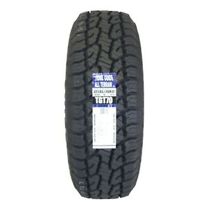 4 Four New Trail Guide Lt245 70r17 All Terrain 119s Tgt70 2457017 R17 Tire