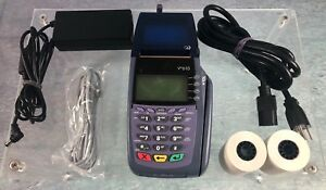 Verifone Omni 5600 Vx610 Credit Card Terminal With Power Supply