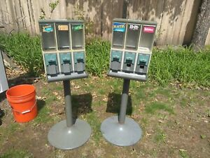 Lot Of 14 Vendstar 3000 Vend 3 Candy Vending Machines With Keys Best Deal