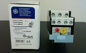 General Electric Thermal Overload Relay Ecrt2b10u New Free Shipping