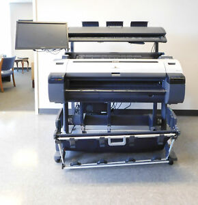 Canon Ipf760 Large Format Printer With Large Format Scanner Colortrac M40
