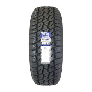 2 two New Trail Guide P265 70r16 All Terrain 112t Tgt93 2657016 R16 Tire