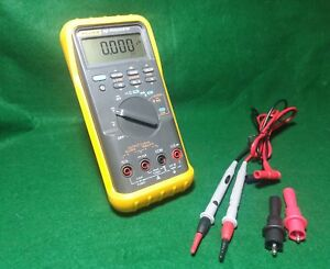 Fluke 787 Process Meter Leads And Clips