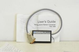 New Ilx Lightwave Tsc 599 Rtd Temperature Sensor Converter