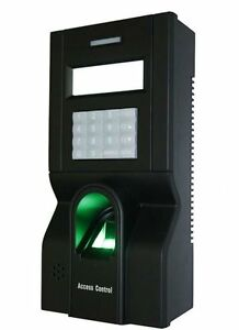 Zk F8 Fingerprint Time Attendance And Access Control Terminal With Software